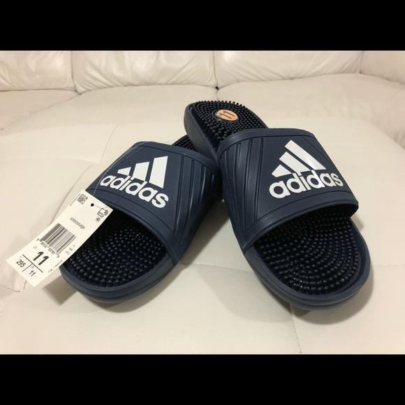 Adidas zapatos voloossage diapositivas sandalias poshmark marina 11 NWT